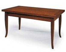 Tavolo in legno mass. gambe Sciabola